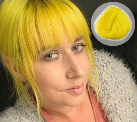 Bright Daffodil Hair Color