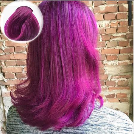 Cerise Hair Color