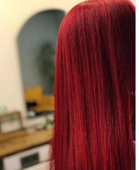 Provocative Wine Red Color Hair Home Coloring and 21 Hair Colors