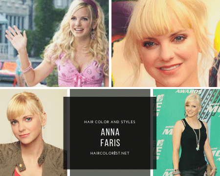 10 Most Beautiful Anna Faris's Hairstyles