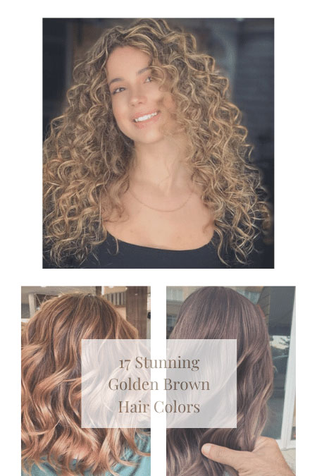 17 Stunning Golden Brown Hair Colors