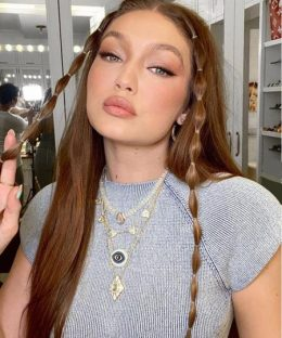 6 Beautiful and Different Gigi Hadid Hairstyles