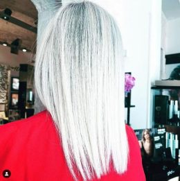 Both Simple and Colorful: 4 White Toner Hair Color